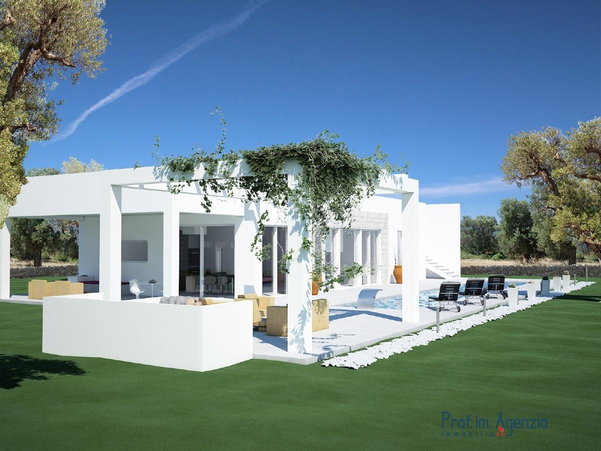 Vendita progetti chiavi in mano carovigno bellissima villa con piscina localit agro di carovigno - Villa con piscina ...