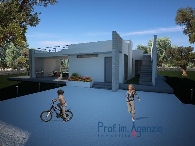 Vendita progetti chiavi in mano s vito dei n incantevole villa con piscina localit agro di - Progetti ville con piscina ...