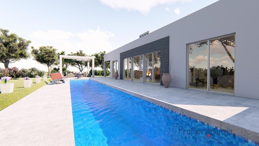 Vendita ville con piscina carovigno bellissima villa con piscina chiavi in mano localit agro - Costo piscina interrata chiavi in mano ...