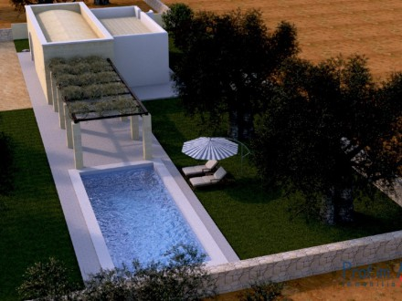 Beautiful restored trulli with swimming pool