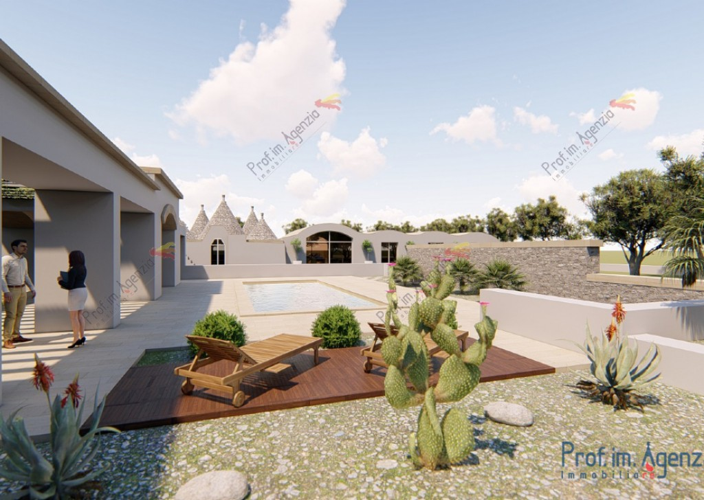 Sale Sea view plots of land Carovigno - Sea-view land with a project already approved Locality Agro di Carovigno
