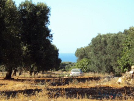 Plot of Land with wonderful sea view in Carovigno