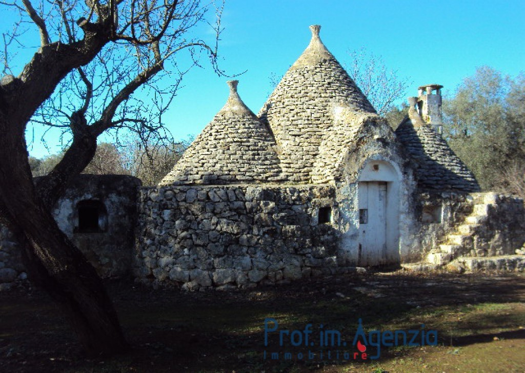 Sale Trulli to be restored/expanded S. Vito dei N. - Interesting trullo with 3 cones and alcoves to restore Locality Agro di San Vito dei Normanni