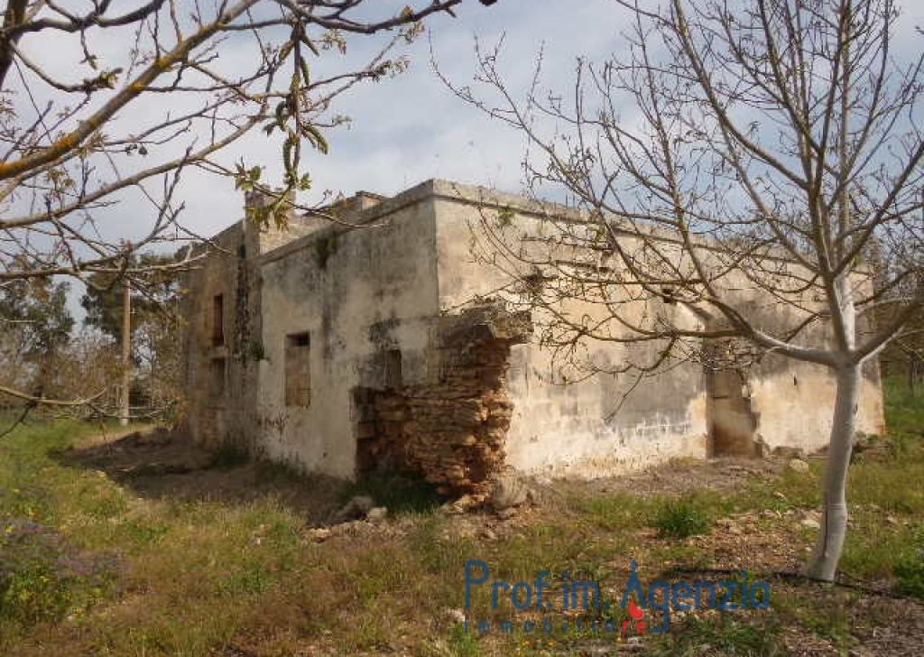Sale Manor farms Brindisi - Majestic farm composed of two buildings Locality Agro di Brindisi