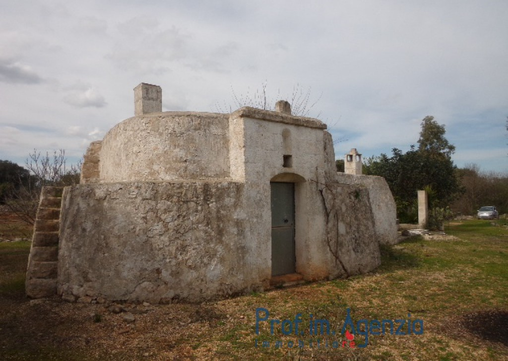 Sale Trulli to be restored/expanded Carovigno - Ancient lamia composed of a wide room with vault and fireplace Locality Agro di Carovigno
