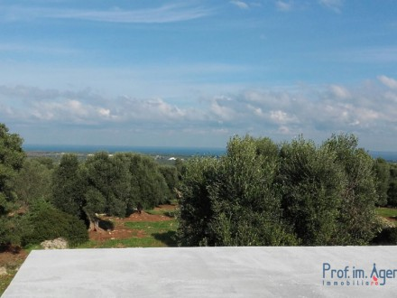 Very interesting villa in the coutryside with sea view
