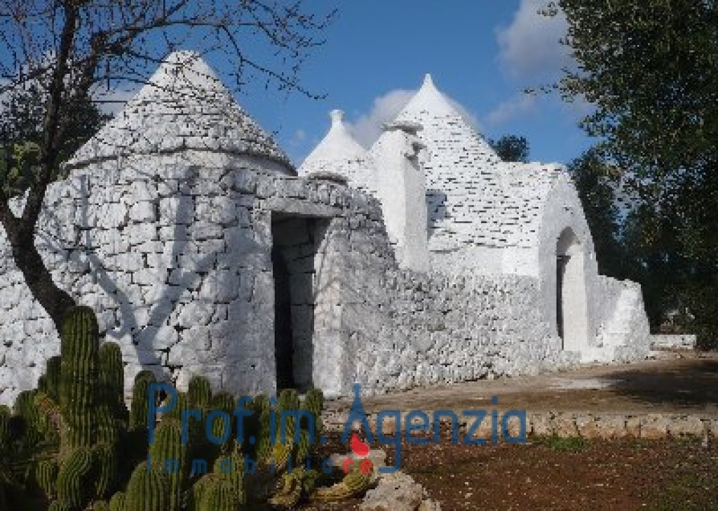 Sale Trulli to be restored/expanded San Michele S. - Beautif and pretty trullo with 5 cones alcoves and fire place Locality Agro di San Michele Salentino