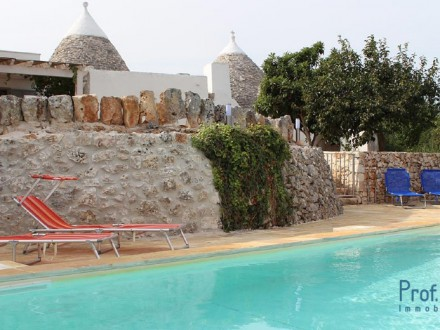 Renovated Trullo with swimming pool