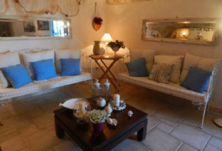 Houses in the historic center of Ostuni, the