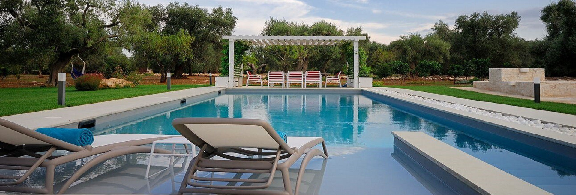 Villa with trullo and swimming pool to seasonal rent